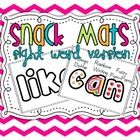 52 sight word mats!  So many options! Use bingo dotters, rainbow writing, fuzzy pom-poms, or even snack!$