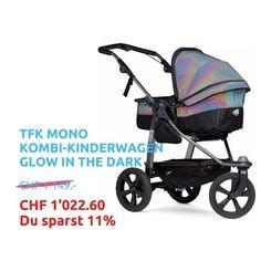 TFK MONO KOMBI-Kinderwagen mit ECO-Luftkammerrad. Dank der neuen wandelbaren Liege-Sitz-Einheit (Kombieinheit) begleitet der sportliche Kombiwagen dein Kind ab Geburt bis ca. 36 Monate resp. bis zu einem Gewicht von 27 Kg. Mit dem optional erhältlichen Komfortsitz-Einhang XXL sogar bis ca. 48 Mt. resp. 34 Kg. 🧡 4 Tage Baby-Wahnsinn im HW Baby Center 🧡 Du profitierst bis Montag 30.11 23:59 Uhr von 11 % «Bläck Friday Weekend»-Rabatt auf das gesamte Sortiment im Onlineshop oder… Bad Ragaz, Baby Center, The Darkest, Baby Strollers, Children, Madness, Stroller Bag, Sporty, Birth