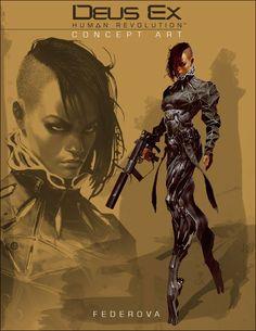 Deus Ex: Human Revolution. Yelena Fedorova