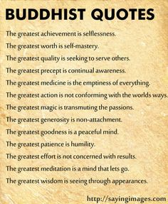 Greatest Buddha Quotes to follow