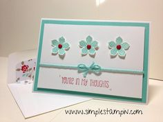 December 29, 2013 Simple Stampin': A super sweet & easy card to make you smile!