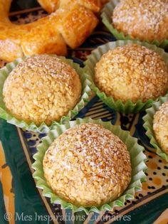 Boules aux cacahuètes et graines de sésames