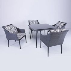 Matty Dining Table Square Set now featured on Fab.