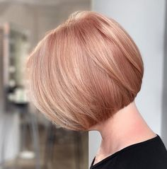 Bobs are super trendy right now and look stunning on anyone. Bobs are great because they can be in a range of colors and lengths, catering to anyone's... Bob Cuts, Bob Haircuts, Short Hairstyles For Women, Looking Stunning, Bobs, Pink Color, Fashion Forward, Catering, Short Hair Styles