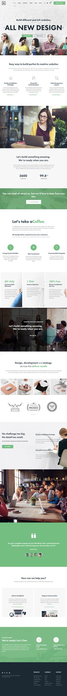 Musta – Corporate Multiuse WordPress Theme