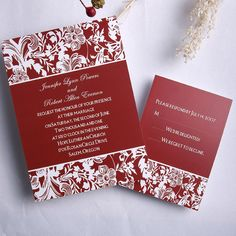 Summer Passion Wedding Invitations ING112 [ING112] - $0.00 : Invitation Store, Invitationstyles.com