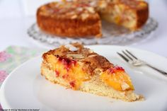 A Warm Welcome Back With A German Almond Peach Cake! - My Kitchen in the Rockies | A Denver, Colorado Food Blog Colorado Denver Foodblog German recipes My Kitchen in the Rockies | A Denver, Colorado Food Blog