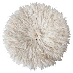 White Bamileke Feather Headdress | Juju hat $595 by Safari Fusion www.safarifusion.com.au