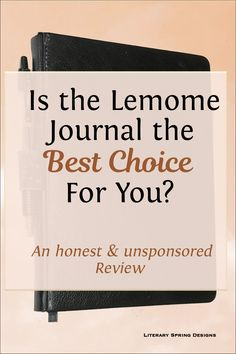 This honest and unsponsored review of the Lemome journal lists the advantages and disadvantages to help you decide whether it is the best journal for you. #bujo #journal #Lemome #review