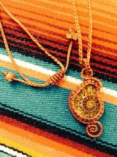 Necklace of ammonite