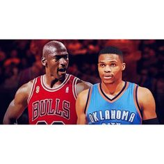 Michael Jordan recorded 28 triple-doubles in 1072 games in his NBA career. Russell Westbrook has 30 triple-doubles in 60 games this season. #repre23nt #brodie #okc #tripledouble