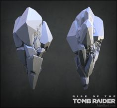 ArtStation - Rise of the Tomb Raider - Highpoly Models, Matt Bard Queen Of The Game, Tomb Raider Lara Croft, Rise Of The Tomb, Environmental Art, Raiders, Game Art, Landscape Design, Paint Colors, Action Figures