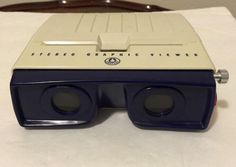 MID CENTURY VINTAGE STEREO GRAPHIC VIEWER for 3-D STEREO PHOTO SLIDES #GRAFLEX