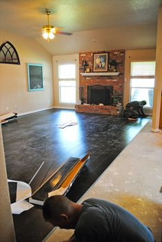 i should be mopping the floor: Installation for Luxury Vinyl Floors