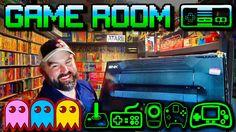 Unbelievable Game Room Tour - Nintendo, Sega, Atari, Commodore, Amiga, T...