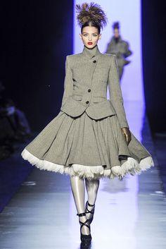 Jean Paul Gaultier Fall 2011 Couture | Paris Haute Couture