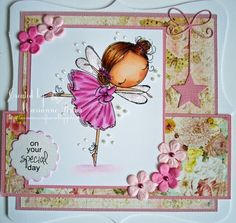 Marianne's Craftroom: My first All Dressed Up card