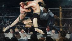 George Bellows, Stag at Sharkey's, 1909   Art of the Day   Magazine   Artfinder