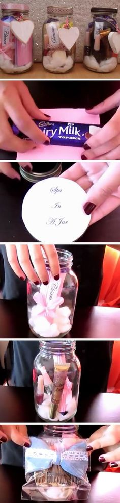 Spa in a Jar | DIY Mothers Day Gift Basket Ideas | DIY Christmas Gift Ideas for Family Mom