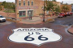 Winslow AZ Standing on the Corner