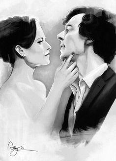 #Sherlock #SherlockHolmes #IreneAdler #Art #TheWoman #Sherene #Sherlen #Shirene #Irenelock #Adlock #BBC #BenedictCumberbatch #LaraPulver