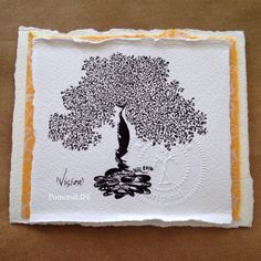 """""""All, everything that I understand, I only understand because I love."""" - Leo Tolstoy  Celebrating a vision of love today. Original tree drawings, not copied or duplicated available at www.pomonalifeshop.com"""
