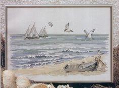 Landscape_Seashore - 1/4 Solo Patrones Punto Cruz (pág. 390) | Aprender manualidades es facilisimo.com