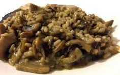 Pasta Italiana: Risoto com funghi Porcini