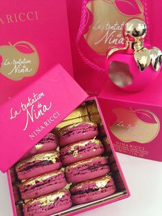 Laduree for Nina Ricci. I just died! I need to get my hands on this!