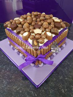 Chocolate Heaven Birthday Cake by Rachels Enchanting Cakes in Sheffield www.rachelsenchantingcakes.com