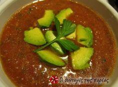 Gazpacho - κρύα σούπα από την Ισπανία