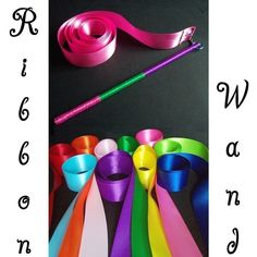 This would be fun for the kid's area.     Twirly Whirly Dancing Magic Gymnastic Happy for Hours Ribbon Wand. $12.00, via Etsy.