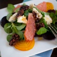 So glad I stumbled this blog. Kitchen Confidante! Beet and grapefruit salad, so colorful and delicious.