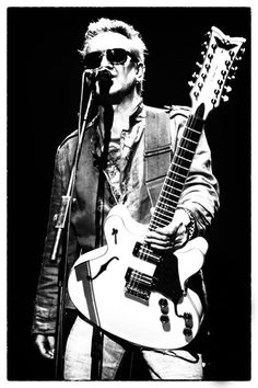 Wayne Hussey from The Mission. Gothic Rock Bands, Sisters Of Mercy, Post Punk, Black And White, Manchester, Music, Wave, Legends, Poster