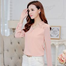 Free shipping 2015 Spring New Woman lace shirt Hollow Fashion Casual Long-sleeved chiffon blouse Shirt Plus size women Tops     Tag a friend who would love this!     FREE Shipping Worldwide     #Style #Fashion #Clothing    Get it here ---> http://www.alifashionmarket.com/products/free-shipping-2015-spring-new-woman-lace-shirt-hollow-fashion-casual-long-sleeved-chiffon-blouse-shirt-plus-size-women-tops/