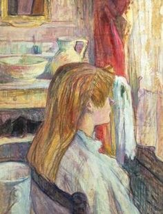 Woman at the Window - Henri de Toulouse Lautrec