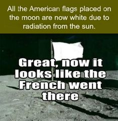 You Had One Job, Neil Armstrong - And he and the other astronauts did it quite well, thank you very much.