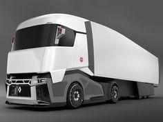 model of renault concept truck Ev Truck, Luxury Van, Future Trucks, Microcar, Futuristic Motorcycle, Truck Design, Commercial Vehicle, Custom Trucks, Electric Cars