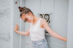 Sophie Giraldo, Seulgi, Youtubers, Basic Tank Top, Camisole Top, Tank Tops, Elegant, Instagram, Casual