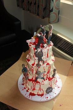 13 Best Zombie Wedding Cakes Images Zombie Cakes Zombie Wedding