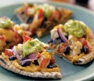 Biggest Loser Recipes - Southwestern Chicken Pile-Up soo delishious #safeweightlosstips #weightloss