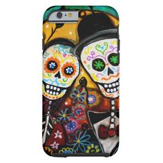 DIA DE LOS MUERTOS WEDDING iPhone 6 CASE #zazzle