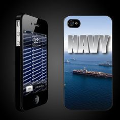 "Military iPhone Case Designs ""Navy Fleet (Blue)"" - iPhone Hard Case - BLACK Protective iPhone 4/iPhone 4S Case by VictoryStore, http://www.amazon.com/dp/B007H9F8MW/ref=cm_sw_r_pi_dp_x4o-rb066CWX2"