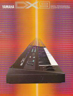 MATRIXSYNTH: 1980s Yamaha DX-9 Synthesizer Brochure