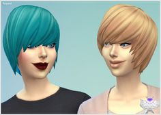 Emo Hair for Females at David Sims via Sims 4 Updates