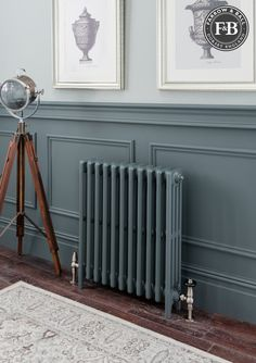 hallway decorating 495396027764360591 - The Radiator Company : Aston Farrow & Ball Source by tricerami Narrow Hallway Decorating, Hallway Ideas Entrance Narrow, Modern Hallway, Entrance Hall Decor, Entrance Halls, Foyer Ideas, Edwardian Hallway, Edwardian House, Victorian Hallway