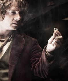 'But then, something happened that the Ring did not intend; it was picked up by the most unlikely creature in all of Middle-earth.' Bilbo and the One Ring
