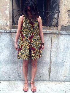 honigdesign: A quick Spanish Cockerel dress DIY