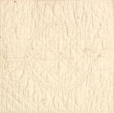 """quilting detail - C. 1835, 92 x 92"""", New England, chintz Ohio star, 2 coordinating chintz fabrics, quilting - medallions, cross hatch, Ohio Stars are in smaller scale chintz, border of chintz - 7.5"""", unwashed"""