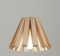 Sonnenlicht von Keita Shimizu - Emma Home Lamp Design, Wood Design, Lighting Design, Modern Lighting, Light Fittings, Light Fixtures, Wood Pendant Light, Pendant Lighting, Pendant Lamps